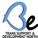 Logo for BE: Trans Support & Development North