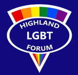 Logo for Highland LGBT Forum