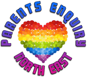 Logo for Parents Enquiry North East