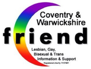 Logo for Coventry and Warwickshire Friend