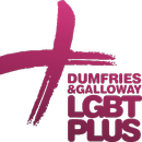 Logo for Dumfries and Galloway LGBT Plus