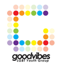 Logo for GoodVibes LGBT Youth Group Swansea